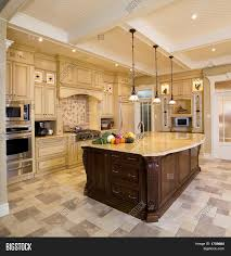 Beige Kitchen beige kitchen large island image & photo bigstock 7880 by guidejewelry.us