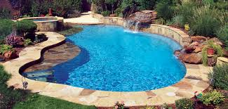 Pools Free Form Pools Blue Haven Custom Swimming Pool And Spa Builders