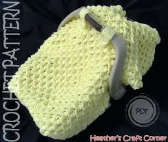 baby car seat covers pattern crochet pattern crocodile stitch car seat canopy blanket us terms included baby car seat covers