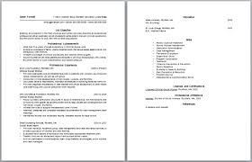 Social Worker Resume Objective Knowing Work And Get Inspired Make