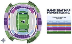 La Rams Seating Chart