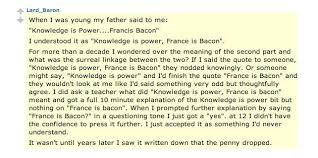 Knowledge Is Power Quote Simple France Is Bacon Know Your Meme