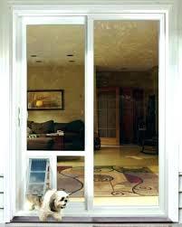 door with dog door built in automatic doggy door automatic door for sliding glass doors with