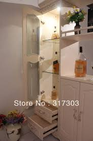 White Corner Cabinet Living Room Living Room Cabinet Separate Cabinet Wine Storage Shelves