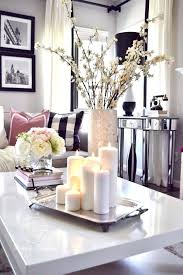 How To Decorate A Coffee Table Tray Table Tray Decor Coffee Table Cute Tray In Home Striking Decor 48