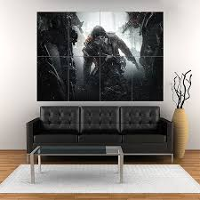 on giant wall poster art print with tom clancy s the division survival block giant wall art poster