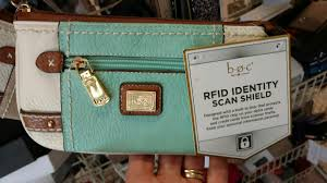 rfid blocking wallet purse