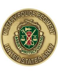 United States Army Military Police School Military Police Mp Regiment Stock Coin Brass Ox U S Army