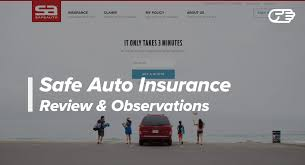 Safe Auto Quote Beauteous Safe Auto Insurance Company Reviews Good HighRisk Car Insurance