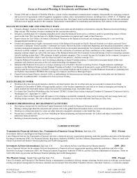 Sample Resume For Financial Services Financial Representative Sample Resume Metlife Financial