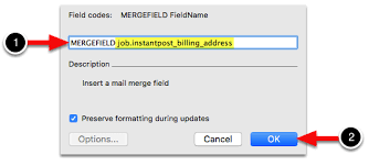 How To Create A Merge Field On Mac Servicem8 Help