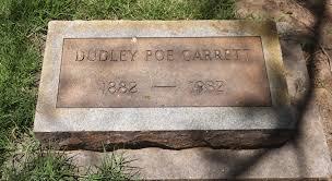 Dudley Poe Garrett (1889 - 1930) - Genealogy