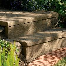 Traditional Stonewood Paving Edging Antique Brown, (L)900mm (H)250mm (