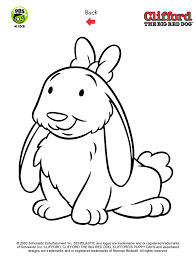 Clifford Printables Puppy Coloring Pages Pbs Kids