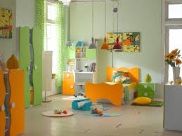 contemporary kids bedroom furniture. Modern Kid Bedroom Furniture Decoration Ideas : Daring Light Green Orange Using Contemporary Kids
