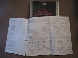 ford f io 1995 ford f700 f800 ft900 b800 cowl wiring diagrams sheets set