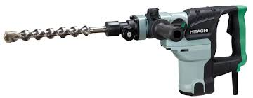 hitachi hammer drill. hitachi dh38ye2 spline 1-1/2 in. rotary hammer drill 0