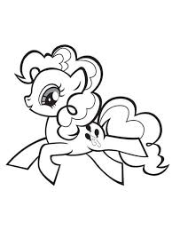 Small Picture My Little Pony Happy Pinkie Pie Coloring Page My Little Pony