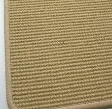 the alternative flat weave rug runner wisal sand with border 70 cm wide new