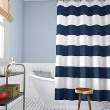 Sheer Fabric Shower Curtain Wayfair