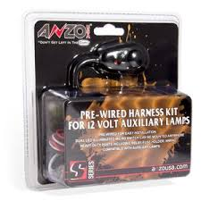 anzo auxiliary wiring kit with switch 851062 Telecaster Wiring Harness at 12 Volt Wiring Harness Kit