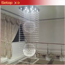 top 10 zx modern k9 crystal chandelier hanging wire crystal ball pendant lamp gu10 led light