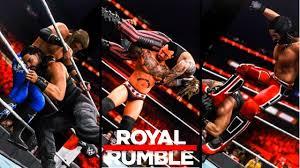 WWE 2K20 Royal Rumble 2020