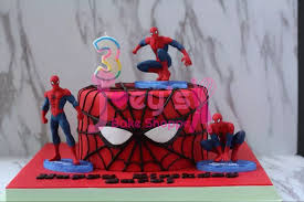 7 Designs Spiderman Cake Toppers With Base Joeys Bake Shoppe