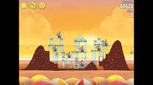 Angry Birds Rio Golden Beachball Level #26 Walkthrough - YouTube