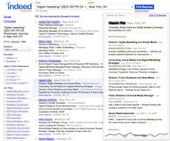 Indeed Resume Search Resume Cv Cover Letter
