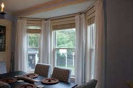 Innovative Kitchen Bay Window Curtains