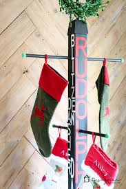 No mantel? No problem. You can hang Christmas stockings without a mantel.  This