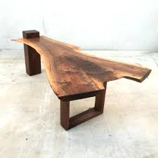 live edge coffee table coffee table one of a kind live edge black walnut coffee table