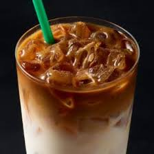 iced cinnamon almondmilk macchiato