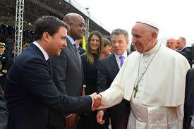 Resultado de imagen para ministro de Vivienda, Ciudad y Territorio, Jaime Pumarejo visita del Papa