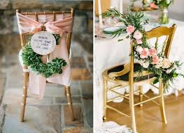 This kind of decoration will add swags of fragrant florals and lush  greenery with beautiful way of dressing up your bridal chair.