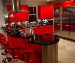 Perfect Red And Black Kitchen Designs Photo Of Exemplary Black And Red Kitchen Ideas  Miserv Picture Pictures Gallery