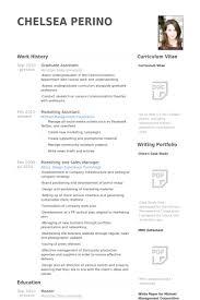 Graduate Assistant Resume Sample Msdoti69