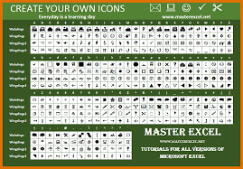 Microsoft Word Wingdings Chart 52 Disclosed Wingdings Chart Copy And Paste