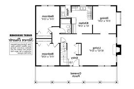 bungalow floor plans. Bungalow House Plan - Alvarado 41-002 1st Floor Plans