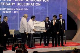 a total of thirty 30 locally produced units in memoration of tmp s 30th anniversary was presented to president duterte