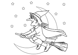 Small Picture Witch Coloring Pages Coloring Coloring Pages