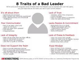 Qualities Of A Good Team Leader What Are The Signs Of A Bad Team Manager Quora