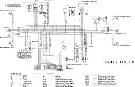 suzuki gn400 motorcycle complete electrical wiring diagram all understanding motorcycle electrical system at Motorcycle Electrical Wiring Diagram