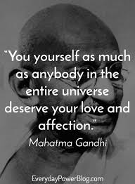 Mahatma Gandhi Quotes On Love