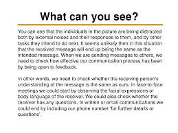 the importance of interpersonal skills  figure 1 the communication process and distractions 7