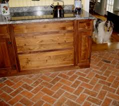 Kitchen Tile Floor Wood And Tile Floor Perfect Glassstone Mosaic Transition From The