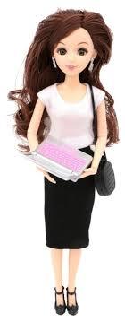 <b>Кукла Funky Toys</b> Эмили бизнес-леди, 29 см, 71002 — купить по ...