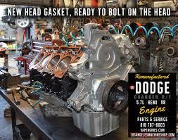 06 Dodge Charger Hemi 5.7 Engine Rebuild - Los Angeles Machine ...
