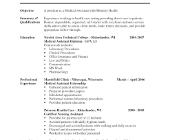 Medical Assistant Resume Objective Examples Ruth Reichl Dig In The